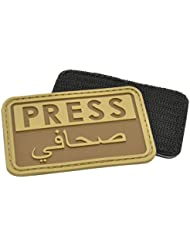 Hazard 4 3D Presse / Arabes Reporters Moral Patch Coyote