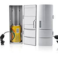 Mini Congelador Refrigerador Portátil para Latas Bebida Cerveza para Viaje Oficina