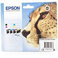 Epson Stylus SX 105 (T0715 / C 13 T 07154010) - original - Inkcartridge multi pack (black, cyan, magenta, yellow)