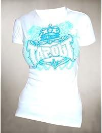 Tapout Damen T-Shirt Princess Crown Weiß