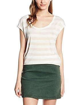 Edc By Esprit Ss Cn Top Stri, Camiseta Para Mujer