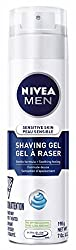 Nivea For Men Sensitive Shaving Gel, 7-Ounce Canister