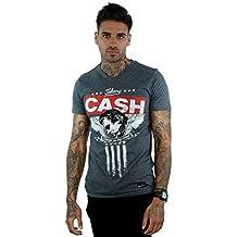 Johnny Cash Herren T-Shirt, Kein Muster