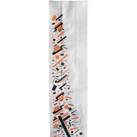 BOLSA PAPEL ANTIGRASA FAST-FOOD 9 + 5 x 32 cm