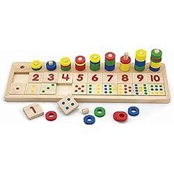 Viga - Juguete para aprender a contar e identificar los números