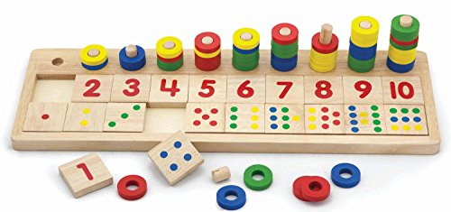VIGA Juguete para aprender a contar e identificar los números