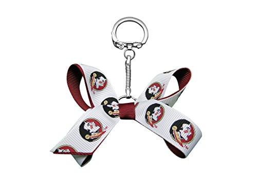 NCAA Florida State University Mini Bow Schlüsselanhänger -