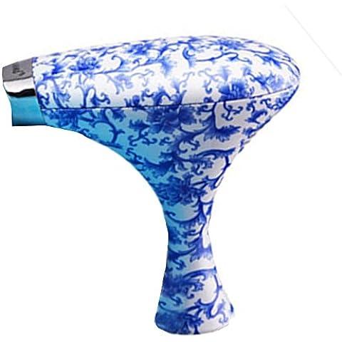 Pelo de Bohemia portátil de viaje conveniente Mini secador azul y blanco la secadores creativo hogar de la impresión de porcelana