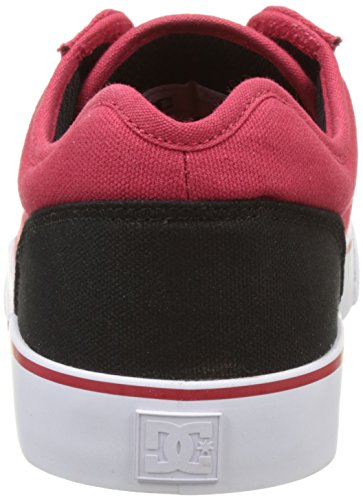 DC Shoes Tonik TX, Basse Uomo Rouge (Red/Black/White)