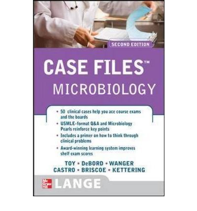 Thumbnail A Read Case Files Microbiology Author Eugene C Toy