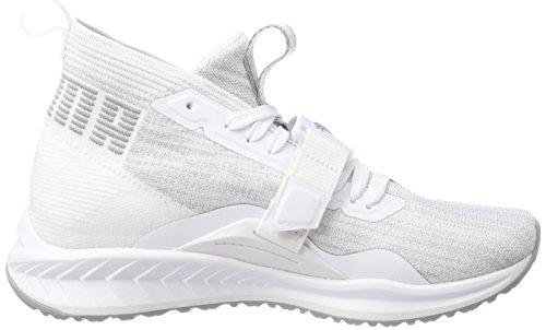 Puma Ignite Evoknit 2 Wn's, Chaussures de Cross Femme Blanc (Puma White-quarry)