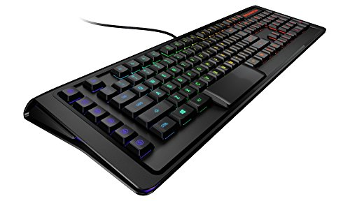 SteelSeries Apex M800 Gaming-Tastatur (Mechanisch, 6 Makro-Tasten, Deutsches Tastaturlayout) (Catz Pc-spiel)