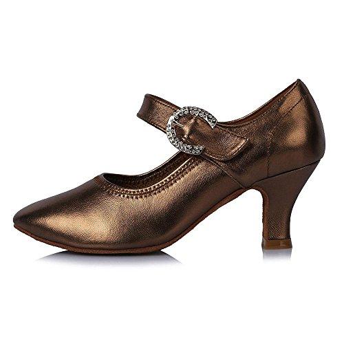 Yff Nouvelle Marque Moderne Chaussures De Danse Pour Dames Latin Dance Hall Tango Chaussures De Danse Femmes Moderne Danse Chaussures 58mm Talon 30715