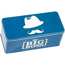 Caja Metal rectangular de bigote MS3350 4WEB/azul 27,6 cm x 12,4 cm x 11,6 cm