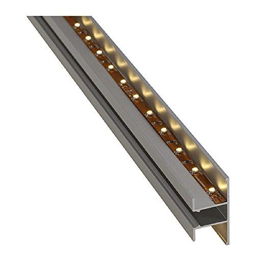Slv - Perfil pared led 4,6cm aluminio anodizado