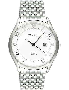 REGENT Uhr - Titanuhr mit Saphirglas - Datum und Titanarmband - SP1062