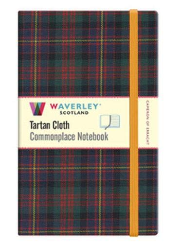 Cameron of Erracht: Waverley Scotland Large Tartan Commonplace Notebook (Waverley Scotland Commonplace Notebooks, Band 66) Cameron Tartan Band