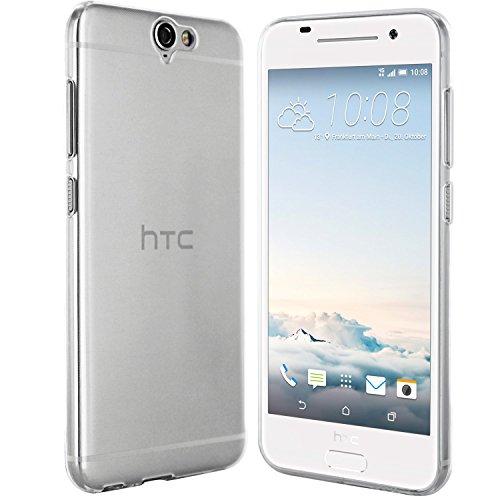 moodie Silikonhülle für HTC One A9 Hülle in Transparent Ultra Dünn - Case Schutzhülle Tasche für HTC One A9