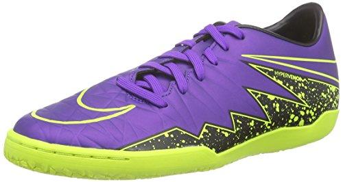 Nike Hypervenom Phelon Ii Ic, Herren Fußballschuhe, Violett (Hyper Grape/Hyper Grape-Black-Volt), 40.5 EU