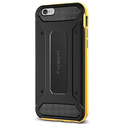 Coque iPhone 6s, Spigen [Fibre de carbone] Neo Hybrid Carbone Coque pour Apple iPhone 6 (2014) / iPhone 6s (2015) - Reventon Yellow (SGP11622)