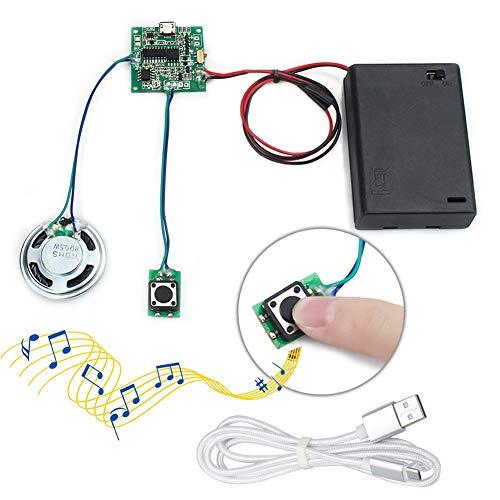 WayinTop Módulo Sonido Grabable Control Botón 8MB