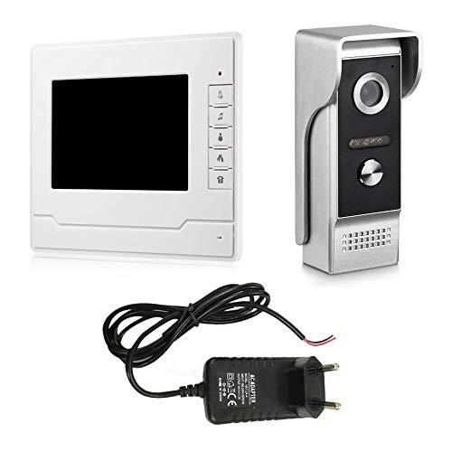 V70n-m hd display da 7 pollici videocitofono senza fili campanello impermeabile campanello per casa visore di sicurezza per la porta visibile