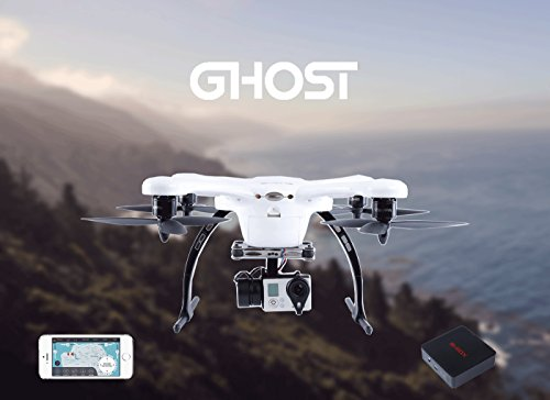 EHANG GHOST Drone Aerial Quadcopter (Android / Weiß) - Kompatibel mit GoPro Hero 2/3/3+/4 Kamera - 4