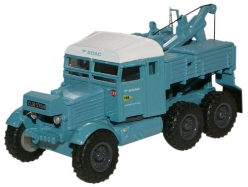 Oxford Diecast 76SP002 B.O.A.C. Pioneer Recovery Tractor -