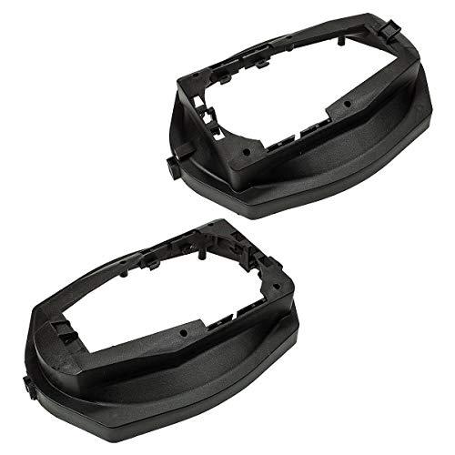 tomzz Audio 2804-007 Lautsprecherringe Adapter Halterungen passend für BMW 3er E36 Limousine Heckablage für 6 x 9 Zoll Lautsprecher 6 X 9 Auto-audio