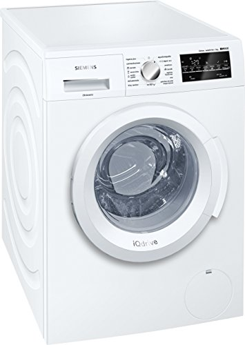 Siemens wm14t468es Independent Front Loading 8�kg 1400RPM A + + + White���Washing Machine (Freestanding, Front Loading, White, LED, White, Left)