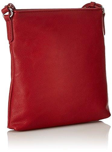 Gabor Damen Ina Umhängetasche, 3x22x23 cm Rot (Rot)