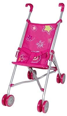 Bayer Design 30171 Modern - Silla de paseo para muñecas, color rosa por Bayer Design