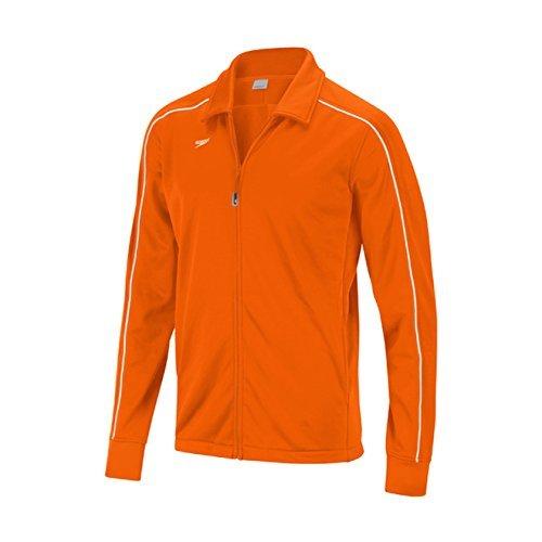 Speedo 7201482Damen Streamline Warm Up Jacke, Damen, Speedo Orange