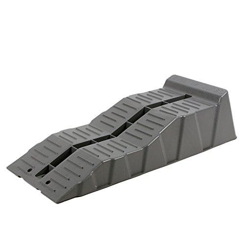 Fiamma Jumbo Stufenkeile, Auffahr-Keil 2er Set - bis 5000 kg, 58 x 6/11 x 14 cm für Wohnwagen oder Wohnmobil