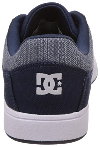 DC Shoes Crisis TX M, Baskets Basses Homme Bleu (Navy)