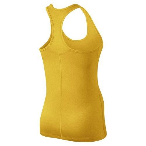 Nike Balance Débardeur pour femme Jaune maïs