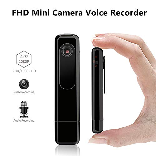 Ledu HD-Aufnahmestift, digitaler intelligenter Mini-Aufnahmestift 1080P WiFi Professionelle USB-Aufnahmevideostift-Bewegungskamera