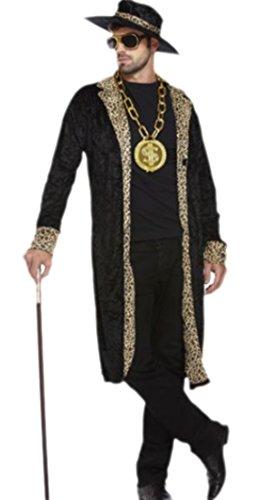 erdbeerloft - Herren Pimp Kostüm, Karneval, Fasching, S/M, (Kostüme Pimp Für Männer)