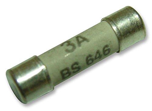 BS646 Adapter Sicherungen 3A Packung mit 10 Stück