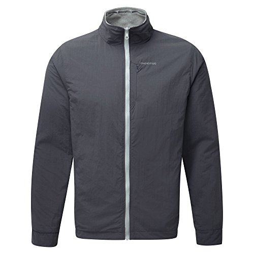 Craghoppers Mens NosiLife Insect Repellent Reversible Adventure Jacket Quarry Grey Marl