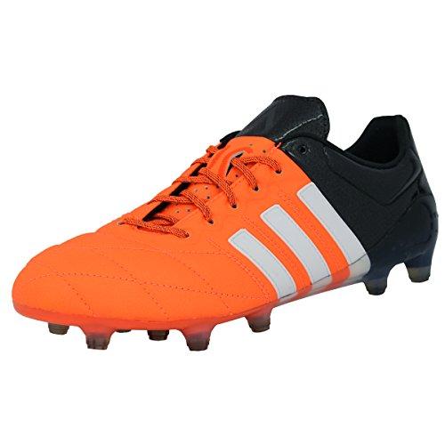 adidas Performance ACE 15.1 FG/AG Chaussures de Football Homme Cuir Orange Sprintframe