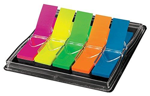 Sigel HN489 - Marcadores adhesivos para libros, multicolor