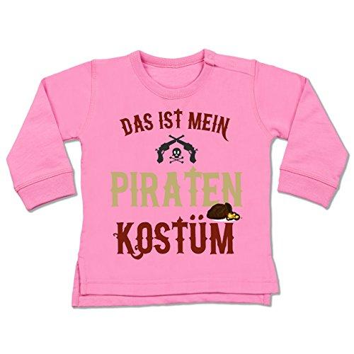 Anlässe Baby - Das ist mein Piraten Kostüm - 18-24 Monate - Pink - BZ31 - dicker Babypullover für Jungen und (Monate 24 Kostüme Pirat)