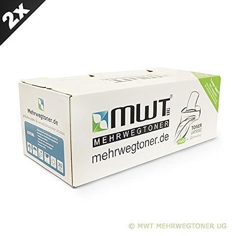 2x MWT Drucker Patronen für Ricoh SP150sU SP150sF SP150w SP150x SP150sUW ersetzt 408010 TYPE150HC Schwarz