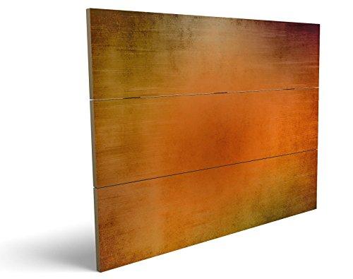 Abstrakt, qualitatives MDF-Holzbild im Drei-Brett-Design mit hochwertigem und ökologischem UV-Druck Format: 100x70cm, hervorragend als Wanddekoration für Ihr Büro oder Zimmer, ein Hingucker, kein Leinwand-Bild oder Gemälde
