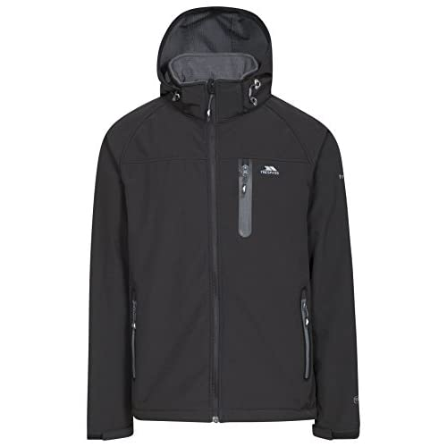 41X H7pBtGL. SS500  - Trespass Accelerator II Mens Waterproof Softshell Jacket with Removable Hood