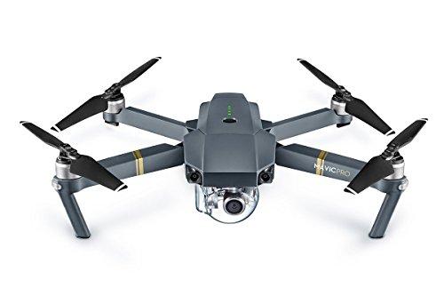 DJI Mavic Pro Drone with 4K Camera - Grey (Certified Refurbished)