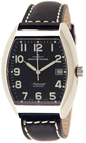 Zeno-Watch Orologio Donna - Tonneau Sapphire Automatico - 3076-a1