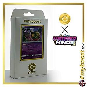 Aegislash 95/236 Holo - #myboost X Sun & Moon 11 Unified Minds - Box de 10 cartas Pokémon Inglesas