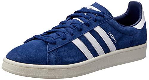 Campus-turnschuhe (adidas Unisex-Erwachsene Campus Sneakers, Blau (Dark Blue/Footwear White/Chalk White), 43 1/3 EU)